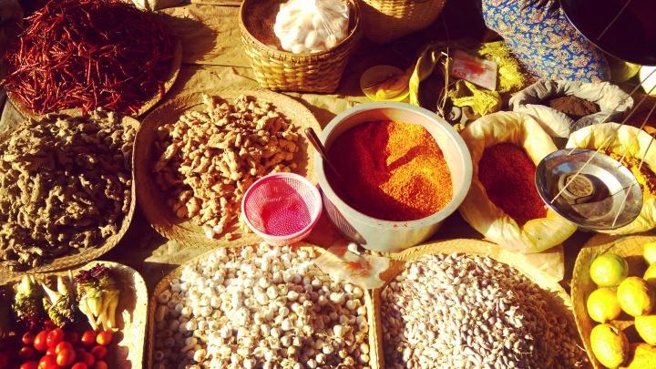 myanmar market - spices.mokita dreams