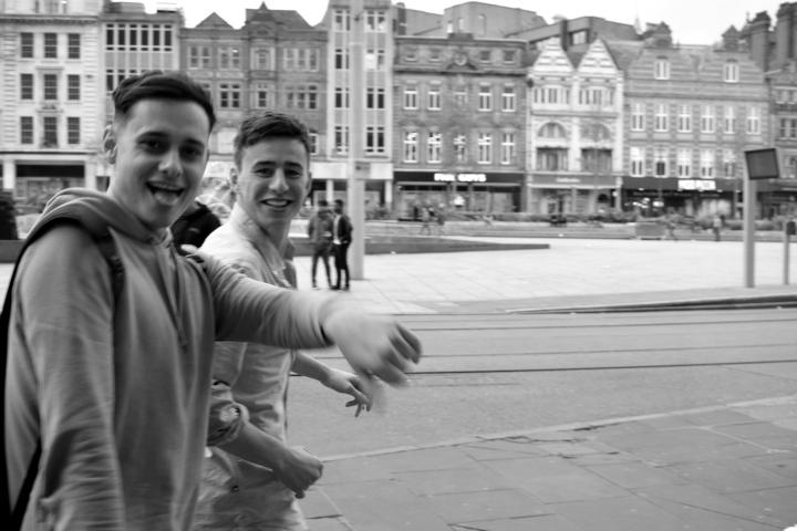 smile and be happy nottingham boys by ieva kambarovaite