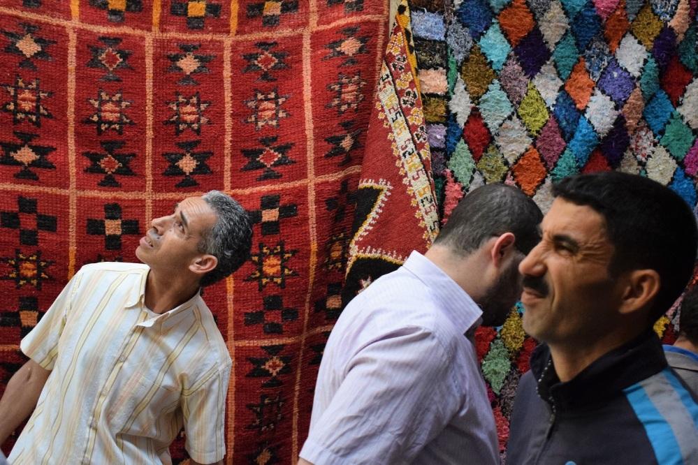 carpet men handmade by ieva kambarovaite