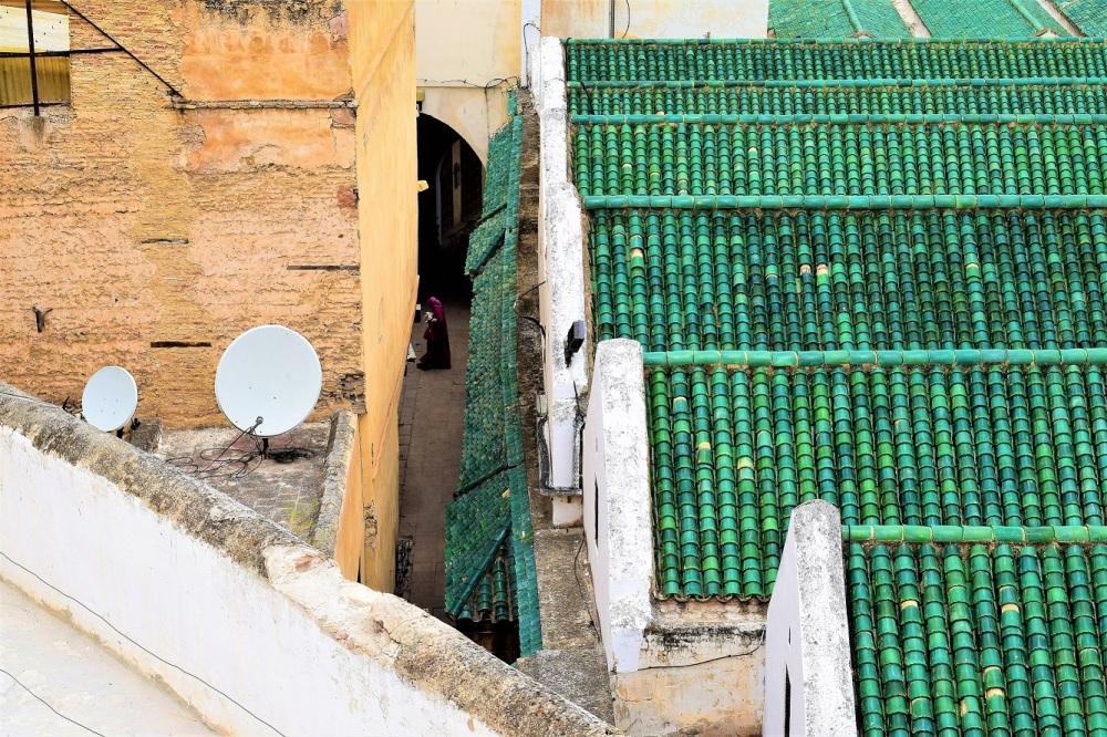 old medina fez street photography by ieva kambarovaite
