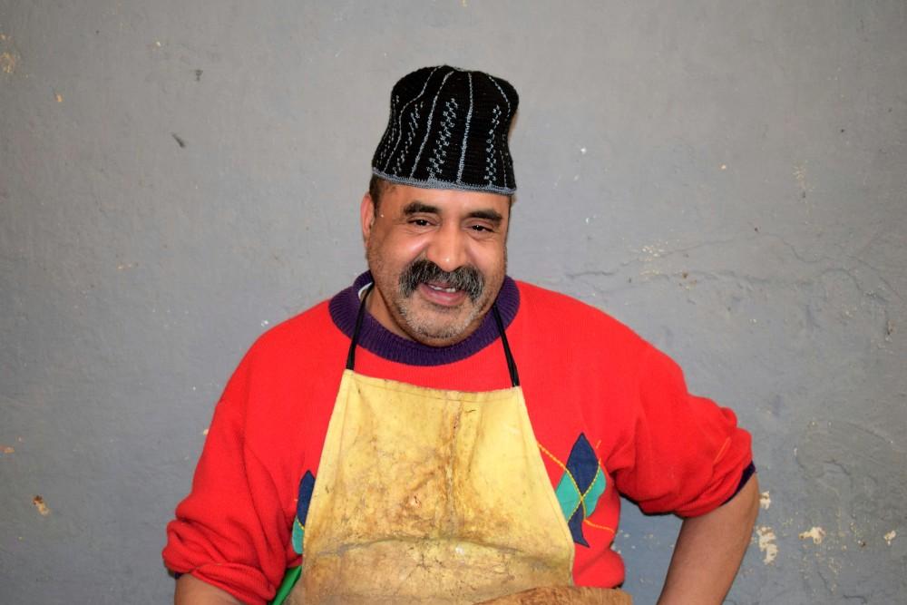 fish seller by ieva kambarovaite